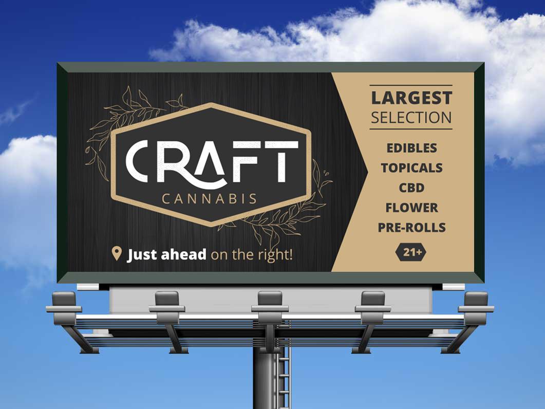 Craft Cannabis Billboard