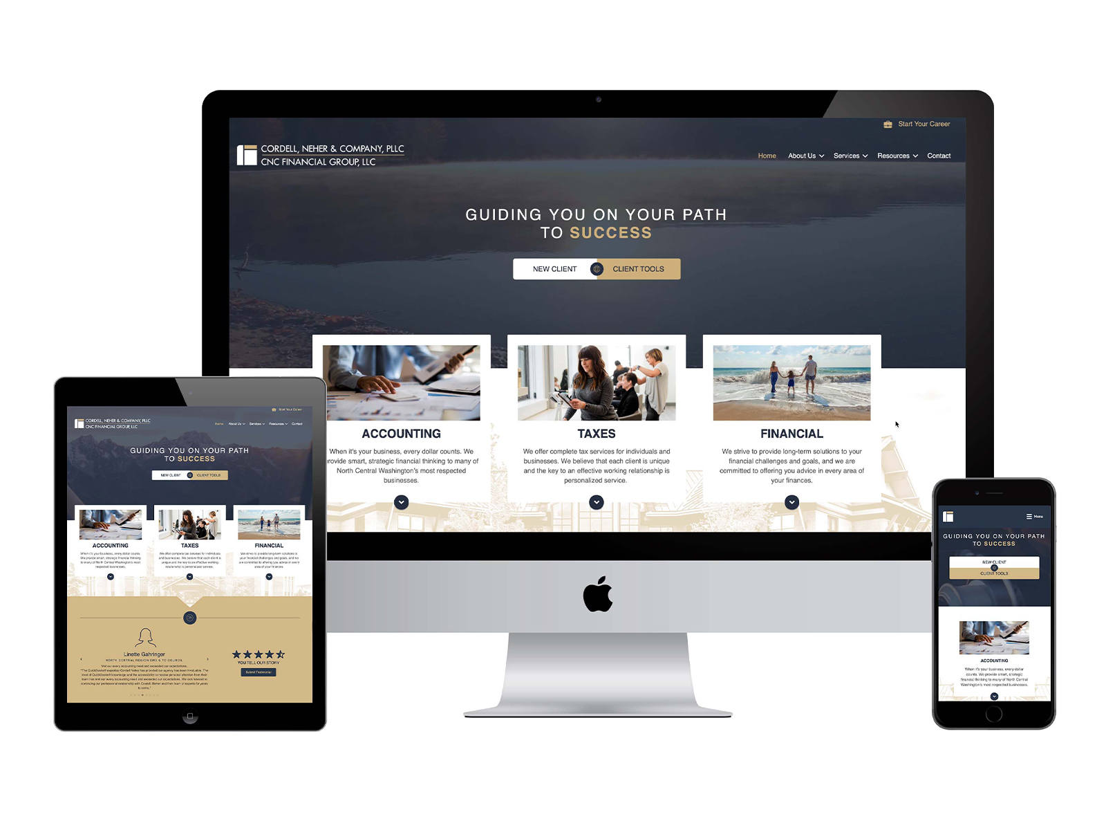 Cordell, Neher & Company Website